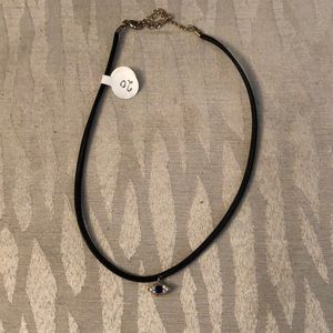 Merx Jewelry - Merx Soft Choker And Eye Accent